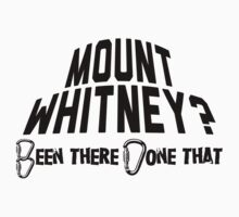 Mount Whitney Mountain Climbing by Location Tees