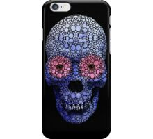 Skull Art - Day Of The Dead 1 Stone Rock'd Art By Sharon Cummings iPhone Case/Skin