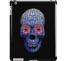Skull Art - Day Of The Dead 1 Stone Rock'd Art By Sharon Cummings iPad Case/Skin