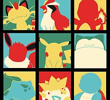 Poké Pop poster by EdWoody