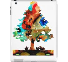 A Certain Kind Of Freedom - Guitar Motorcycle Art Print iPad Case/Skin