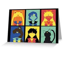Sailor Pop Art poster Greeting Card