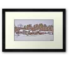 Winter Within Framed Print