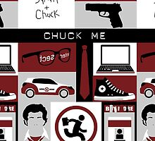 NBC Chuck Phone Case by vedika