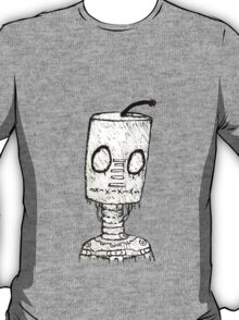 Rainy Day Robot (Sketch Version) T-Shirt