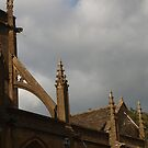 Sherborne Abbey (4) by kalaryder