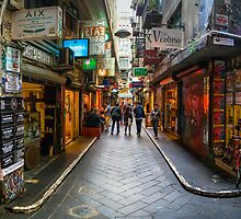 Centre Place, Melbourne by jamjarphotos