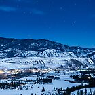 Night Sky Over Winthrop, Washington and the Methow Valley by Jim Stiles