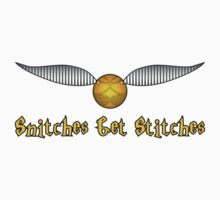 Snitches Get Stitches Kids Clothes