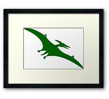 Pterodactyl Dinosaur  Framed Print