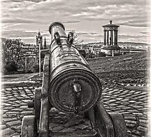 On Calton Hill by DavidWHughes