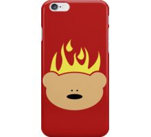 Teddy Bear in Flames iPhone Case/Skin