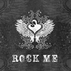 ROCK ME winged heart mother and child by Rockinchalk