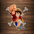 Luffy Leap by markusian