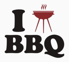 I Love BBQ by BrightDesign