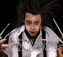 Edward Razorhands by Nornberg77