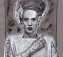 Bride Of Frankenstein by jasonkincaid