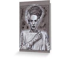 Bride Of Frankenstein Greeting Card