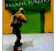 Taking the falafels out of the equation....#fastfoodturfwar by Tim Constable