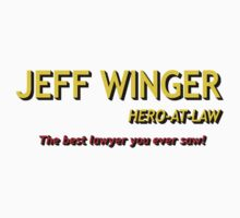 Community - Jeff Winger, Hero At Law by HalfFullBottle