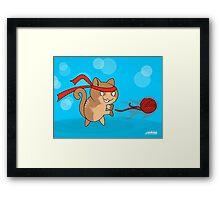 Cat-Ouken Framed Print