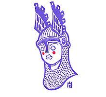 Viking Queen Photographic Print