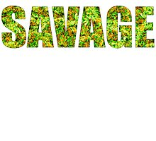 SAVAGE (KUSH Texture) Photographic Print