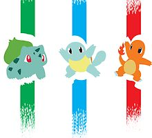 1st generation pokémon stripes by To0n