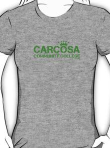 Carcosa Community College Green T-Shirt