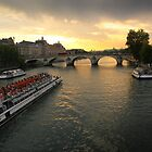 Paris bridge by bposs98