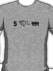 True Detective 5 Horsemen T-Shirt