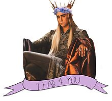 Thranduil - Flower Crown by thrandys-crown