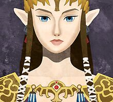 Faux-Paint Zelda (The Legend of Zelda) by enthousiasme