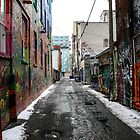 Graffiti Alley Toronto 2 by Jason Dymock