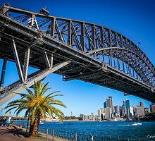 The Harbour Bridge, Sydney, Australia by Cédric Tourasse