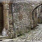 An Old CobbleStone Alley by Bootiewootsy