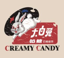 White Rabbit Creamy Candy Vintage by misterspotswood
