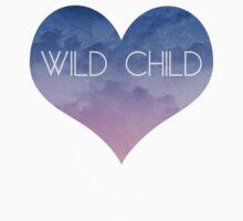 Watercolor Cloud Heart WILD CHILD by scarletprophesy