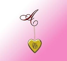 A Golden Heart Locket by Chere Lei