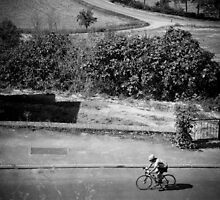 French Cyclist by Cédric Tourasse