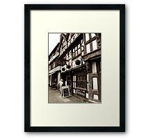 The Garrick Inn Framed Print