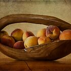 Peachy by Elaine Teague