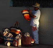 the seller - el vendedor by Bernhard Matejka