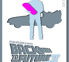 Back to the Future II Minimalist poster by Sam Bentley