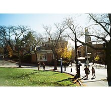 Weekend Afternoon, RISD, Providence Photographic Print