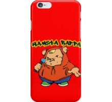 Hamsta Rapper iPhone Case/Skin