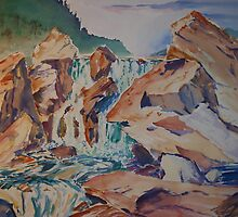 Changing light on high rocks by IslesOfMine