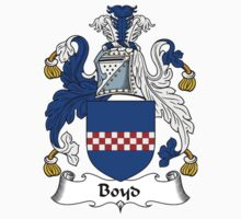 Boyd Coat of Arms / Boyd Family Crest Kids Clothes