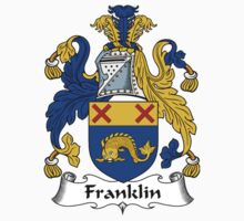 Franklin Coat of Arms / Franklin Family Crest by William Martin
