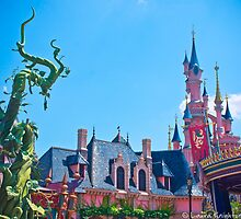 Fantasyland and Sleeping Beauty Castle (Disneyland Paris) by ThatDisneyLover